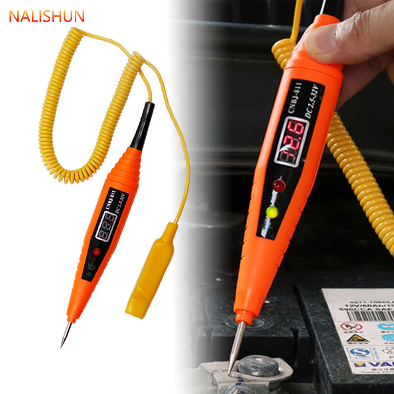 Automotive Circuit Induction Test Pen LED Digital Test Pen Test Pen 2.5-32V For Checking Circuit Fuse
