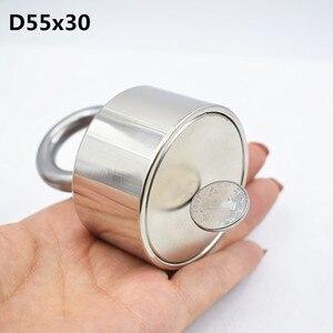 Image 4 - Neodym magnet 50x30 N52 rare earth super starke leistungsstarke runde schweißen suche magnet 50*30mm gallium metall elektromagnet