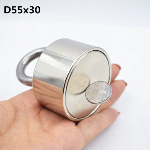 Image 4 - Neodymium magnet 50x30 N52 rare earth super strong powerful round welding search magnet 50*30mm gallium metal electromagnet