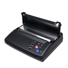 Dövme Stencil Maker Transfer makinesi termal fotokopi yazıcı hediye 10 adet kağıtları