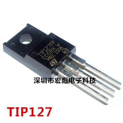 10 pçs/lote TIP127FP Transistor Darlington TO-220F TIP127 100V / 5A