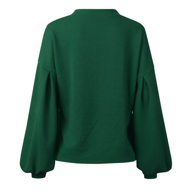 Women's Sweaters 2020 Autumn Basic Women Pullover Solid Casual Winter Warm Soft Jumper Tops O Neck Knitted Long Sleeve Sweater 6