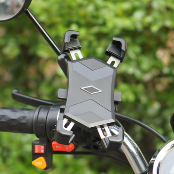 Adjustable Bike Phone Holder 360 degree Rotation Bicycle Motorcycle Handlebar Universal Bike Mount Holder for iPhone XS/Max