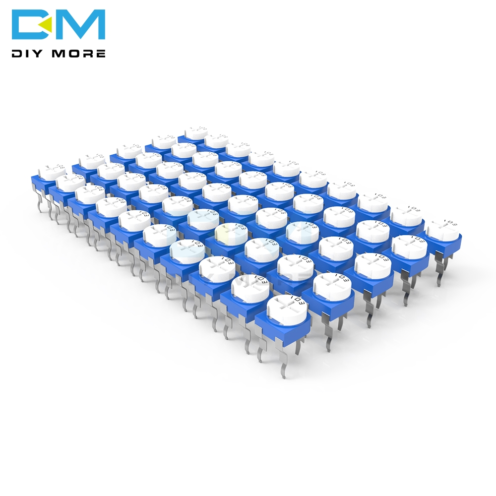 20PCS Variable Resistor 100R 200R 500R 1K 2K 2.2K 3K 5K 10K 20K 50K 100K 500K 1M Ohm RM-065 RM065 Trimpot Trimmer Potentiometer