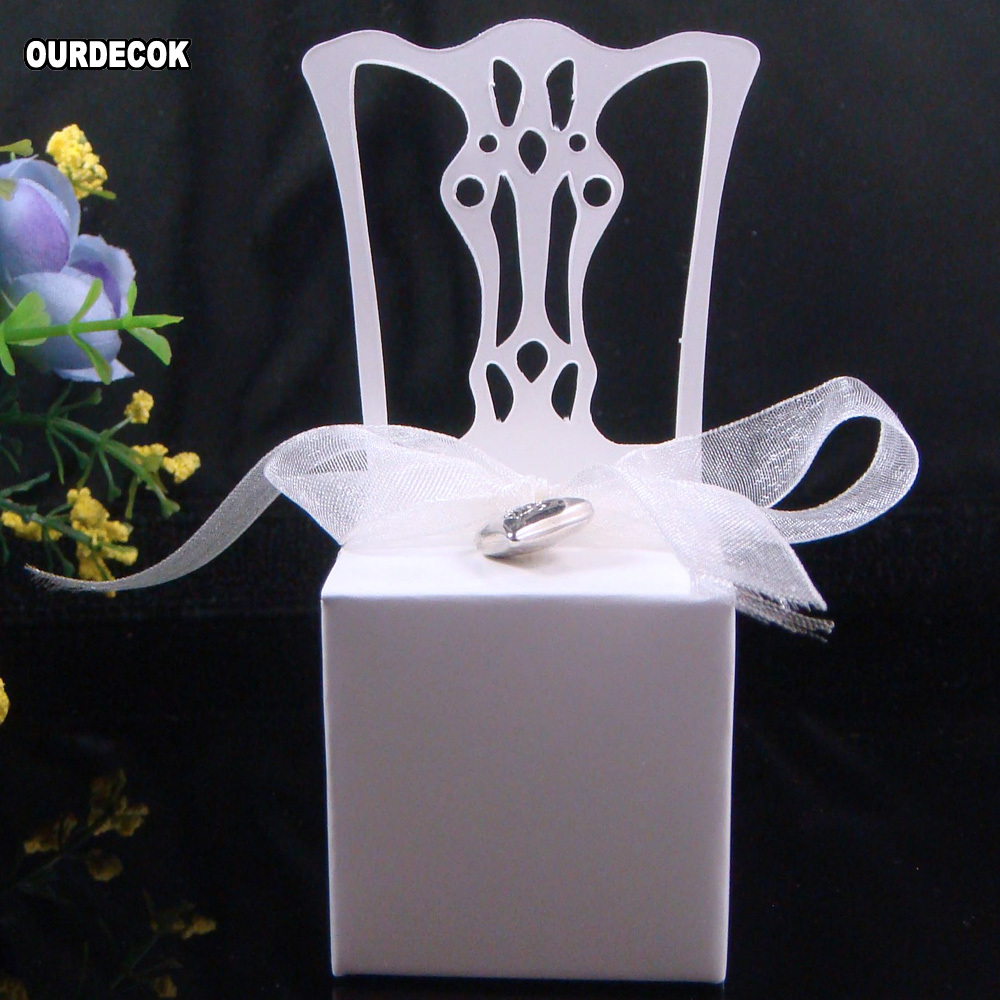 Hochzeit Bevorzugt Süßigkeit Boxen Stuhl Form Ort Karte Halter Papier Geschenk Boxen Mit Name Karte Band Herz Anhänger Caja De Dulces Box Chair Box Boxbox Gift Box Aliexpress