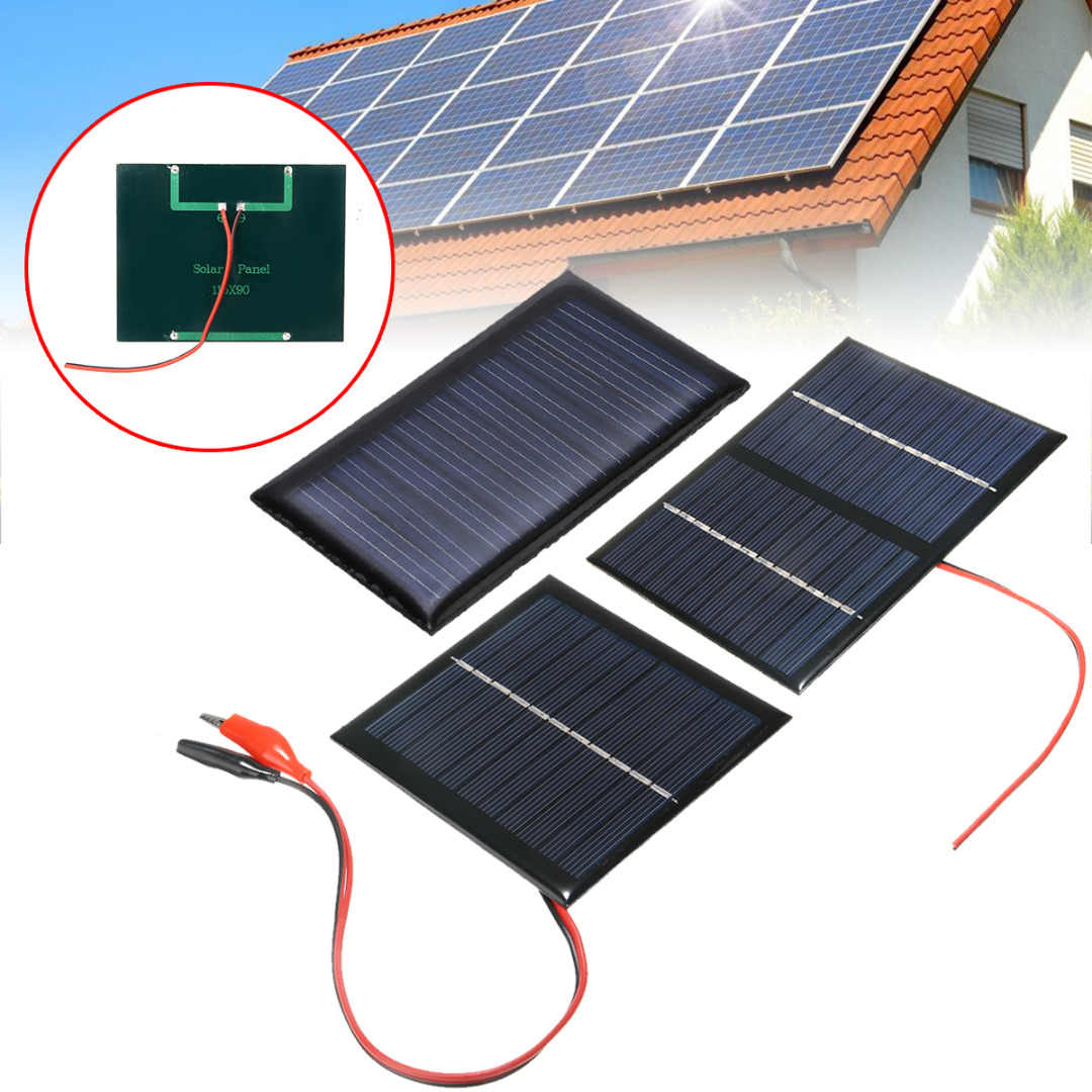 Mayitr 9V 3W Mini Portable Cell Panel Surya Sistem Lampu DIY Sel Baterai Charger Panel Tenaga Surya/Solar Panel