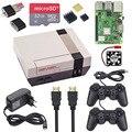 Raspberry <font><b>Pi</b></font> 3 Model B + игровой набор + 32G sd-карта + 2 геймпада + чехол + вентилятор + 3A мощность + радиатор + HDMI кабель для RetroPie