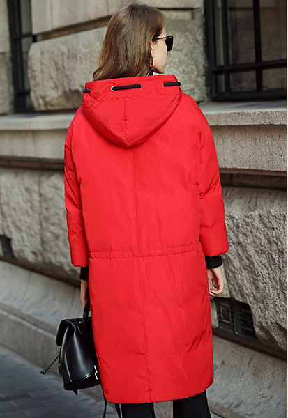 High Quality Winter Jacket Female 2020 New 90% White Duck Down Women Parkas Long Hooded Windproof Coats Outwear LX324