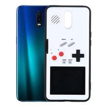 Farbe Bildschirm Dispaly GameBoy Fall Abdeckung für OPPO R9S R11 11S R15 RENO-Z A9 RENO2 Retro Tetris Spiel Telefon zurück Schutz Fall