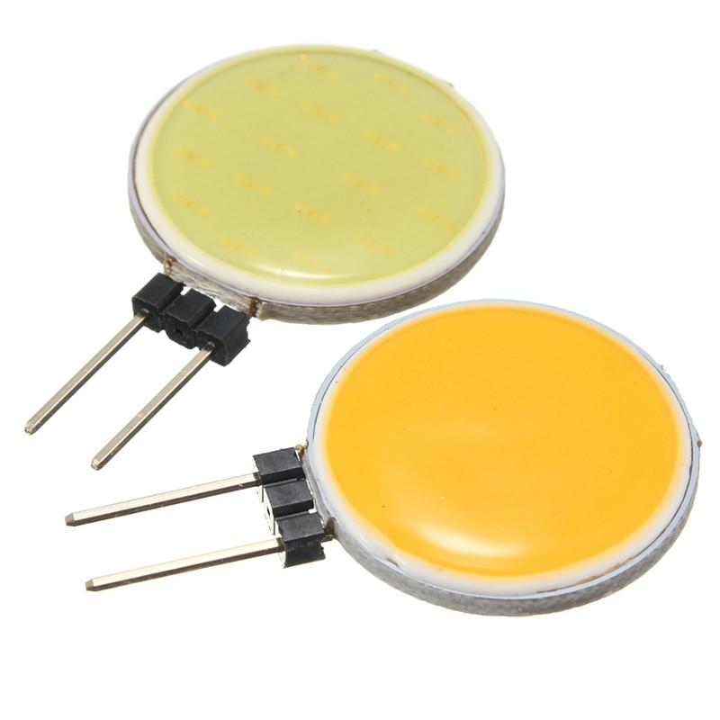 DC12V G4 COB LED Lamp Bulb 7W 30Leds Replace Halogen Spot Light Bulb Pure White(6000-6500k), Warm White(3200-3500k)