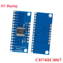CD74HC4067 74HC4067 16-Kanal ADC Analog Digital Multiplexer High-speed Breakout Board Modul Für Arduino(China)