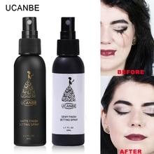 Marca UCANBE, 50ml, conjunto de maquillaje, espray hidratante, base duradera, fijador mate, ajuste de acabado, espray Natural cosmético