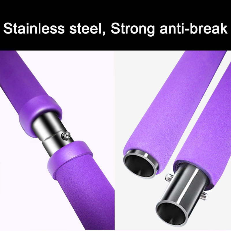 Yoga Strap Pilates Stick Exercise Elastic for gymnastics Resistance Bands Sport at home Massage Rope Pull