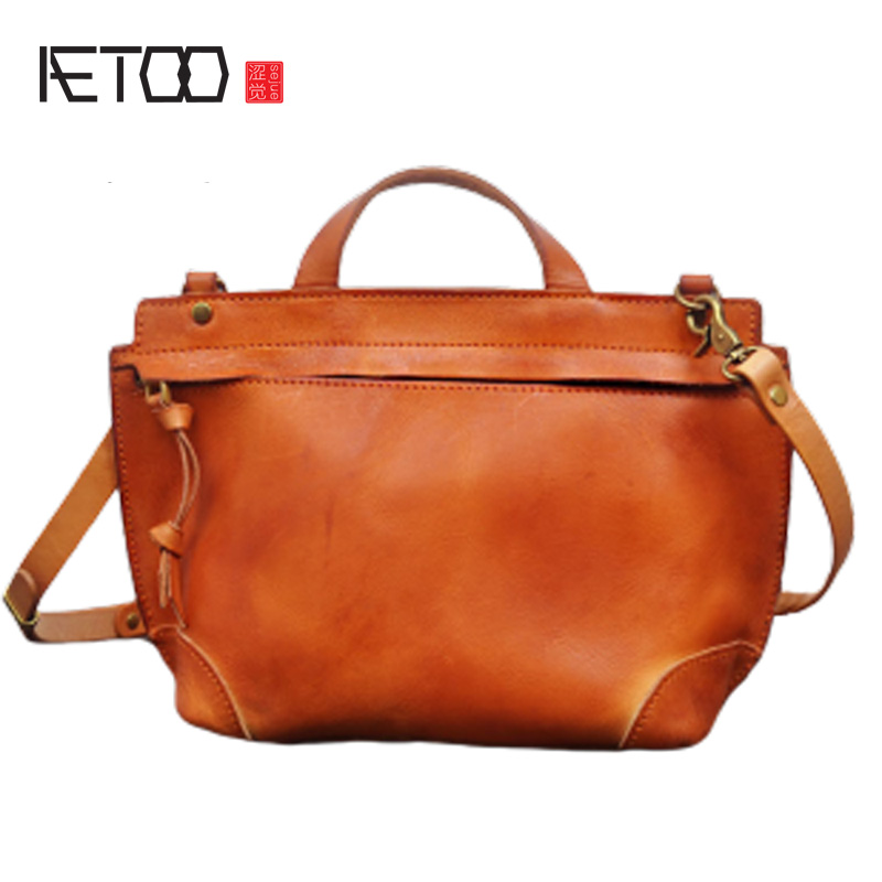 Leisure Retro Tannery Leather Cowboy