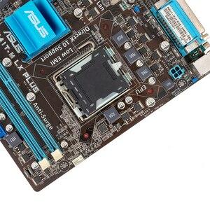 Image 4 - Asus P5G41T M LX زائد سطح اللوحة G41 المقبس LGA 775 ل النواة 2 ديو DDR3 8G SATA2 VGA uATX الأصلية المستخدمة اللوحة
