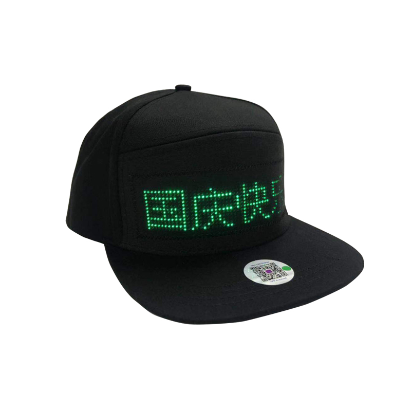 2020 Popular LED Cap With Different Color LED Display Scrolling Text LED Hat For Children Adult Birthday Gift Party Dancer Gift