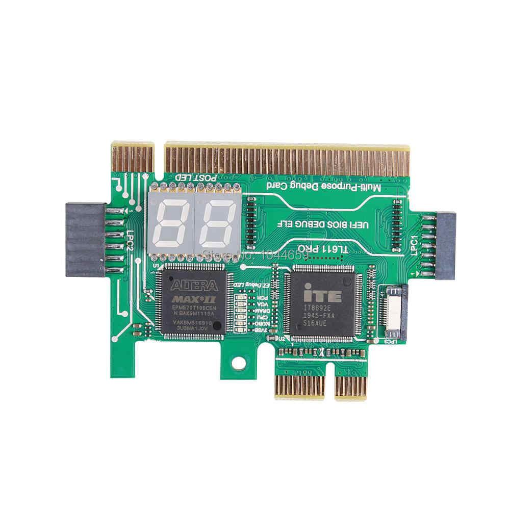 Motherboard Pci Pcie Mini Pcie Lpc Pc Analyzer Diagnostic Card For Universal Laptop Desktop Test Post Debug Card Aliexpress