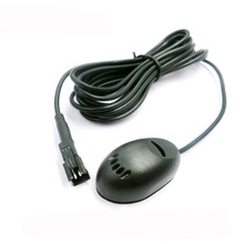 Professional Auto Car Microphone Condenser Omidirection Window Recording with SM Jack for Car Amplifer 2M Line