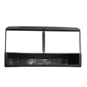 Image 2 - Single Din Car Fascia Stereo Radio DVD Player Panel Plate Frame Audio Dash Mount Adapter Bezel for Ford Fiesta Focus 1998 2006