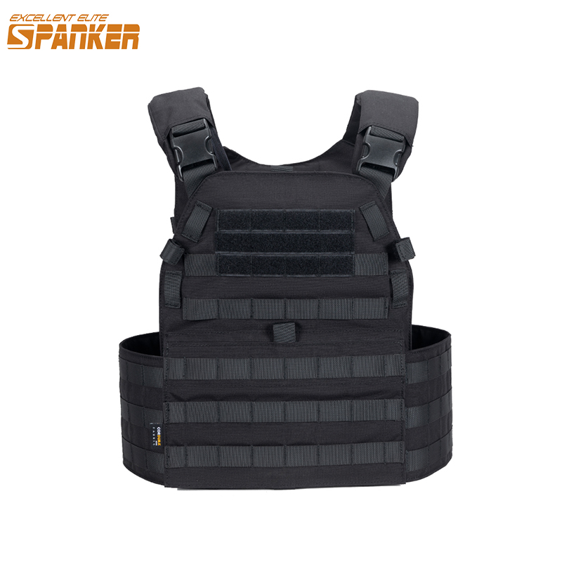 EXCELLENT ELITE SPANKER Tactical Hunting Vest Molle Plate Carrier Outdoor CS Game Paintball Airsoft Vest Military Combat Vests