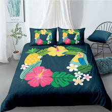 Wreath Bedding Set For Kids Bird Fresh Beautiful Duvet Cover Pineapple King Queen Twin Full Single Double Unique Design Bed Set цена 2017