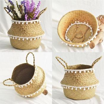 Natural Woven Basket  1