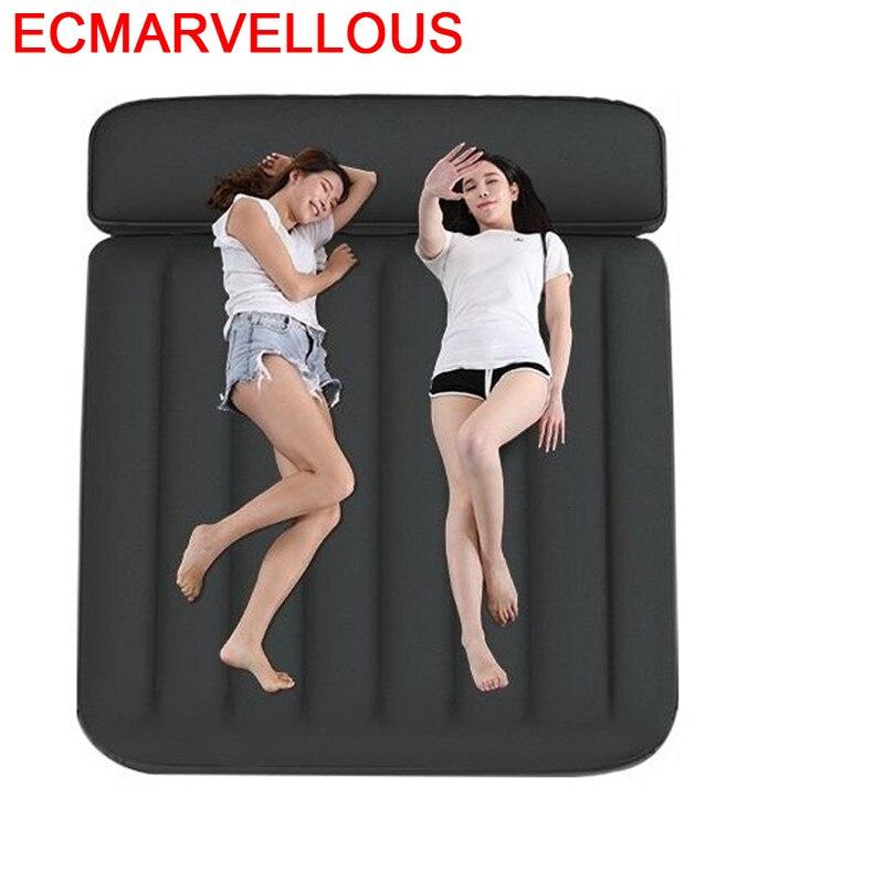 Recamara Moderna açık Moveis Cabecero Cama Meble seyahat odası yatak odası mobilyası Mueble De Dormitorio yaktı ev şişme yatak title=