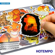 50pcs The Lion King Cartoon Stickers for Kid Gift DIY Mobile Phone Laptop Luggage Suitcase Skateboard Waterproof Decal Stickers