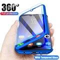 Роскошный чехол 360 для Samsung Galaxy A21S A11 A31 A51 A71 A10 A10S A10E A20 A30 A30S A40 A50 A60 A70, Полностью Защищенный чехол из поликарбоната