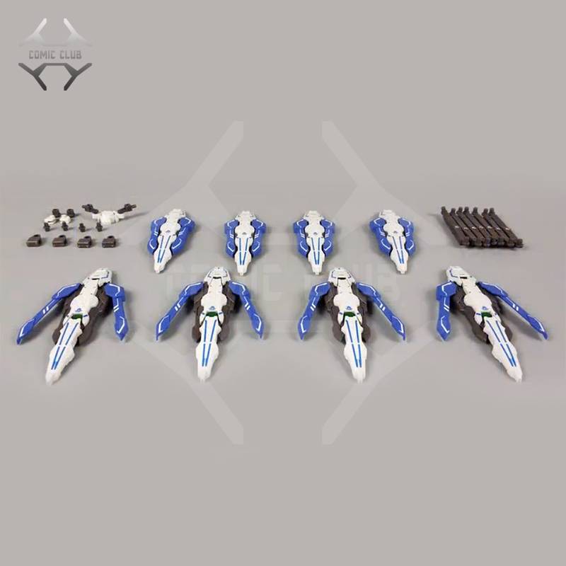COMIC CLUB IN-Stock Snow Model GN Shield For MB/MG 1/100 Gundam Astraea/ Avalanche-Exia Assembly Toys Figure