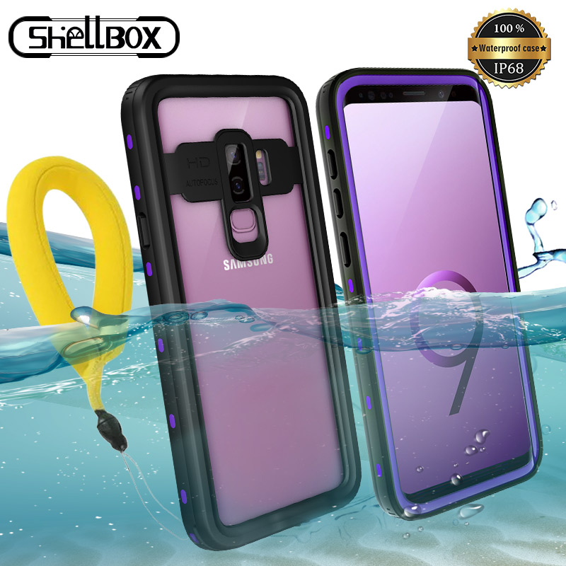 IP68 <font><b>Water</b></font> <font><b>Proof</b></font> <font><b>Phone</b></font> <font><b>Case</b></font> For Samsung Galaxy S10 Plus S9 S8 Note 10 10+ 8 9 Real Waterproof <font><b>Case</b></font> 360 Full Protection Cover image