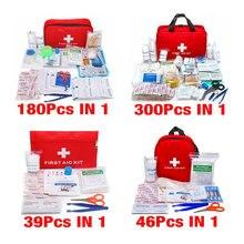 Ручной бытовой набор первой помощи с этикетками и отсеками для