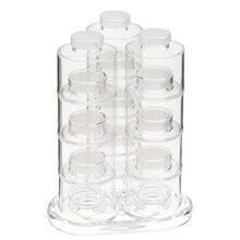 6 шт./компл. специй контейнер для перца 12 Кухонные принадлежности: башня Вращающаяся конструкция приправ Кухня специй бутылки для специй
