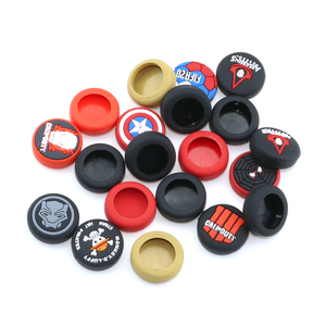 Image 5 - YuXi 1pc Silicone Analog Joystick Stick Grips Cover for PlayStation 4 PS4 Pro Slim PS3 Controller Sticks Caps for Xbox One 360