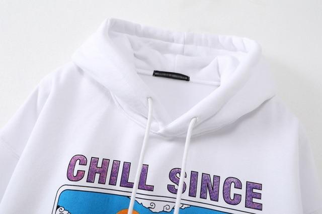 Oversize girls stylish cartoon print hoodies 2020 autumn fashion ladies chic hoodies female casual pullovers streetwear women 3
