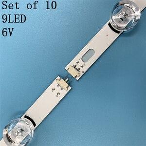 """Image 2 - 10pcs LED strip For LG Innotek DRT 3.0 49""""A/B 49LB5500 49LB550V 49LB5550 6916L 1944A 6916L 1945A 6916l 1788A 6916l 1789A"""