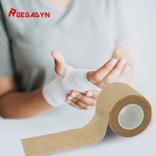 ROEGADYN спортивный эластопласт клейкий бинт для колена/запястья/талии/плечевого сустава восстановление спортивная лента мышцы CareTeip