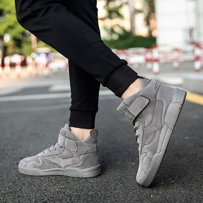 Hidden Heels 6cm High Top Sneakers Men