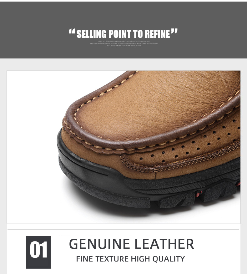 H44f6c1ac88934fcb97cc0d7b802d4615J 2019 New Men Shoes Genuine Leather Men Flats Loafers High Quality Outdoor Men Sneakers Male Casual Shoes Plus Size 48