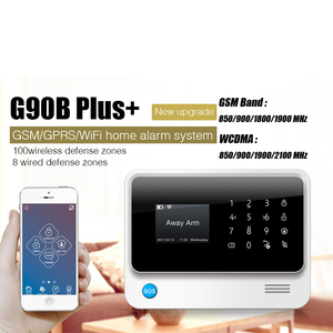 Image 5 - FUERS 2019 NEW WIFI GSM 3G G90B Wireless Home Security Alarm System IOS Android APP Control Home Burglar Security