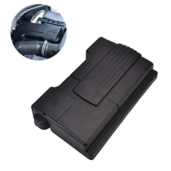 Car Engine Battery Protection Cover For Skoda Kodiaq Superb For Volkswagen Tiguan MK2 Battery Anode Electrode Shell image