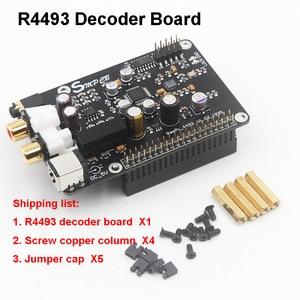 Image 2 - AK4493 AK4493EQ DAC Decoder Board Digital Broadcast Network Player I2S 32BIT 384KHZ DSD128 For Raspberry Pi 2B 3B 3B+ DAC
