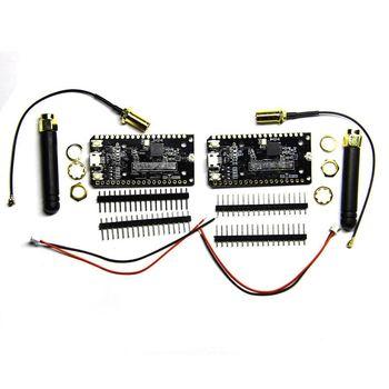 HOT-2Pcs Sx1276 Lora Esp32 868/915Mhz の Bluetooth の Wi-Fi インターネットアンテナ · モジュールブリックセンサ開発ボード