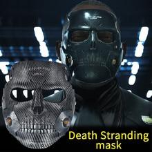 Новая экшн-игра со страном смерти-Kojima 2 Маскарадная маска из смолы для косплея, маска для Хэллоуина, Маскарадная маска