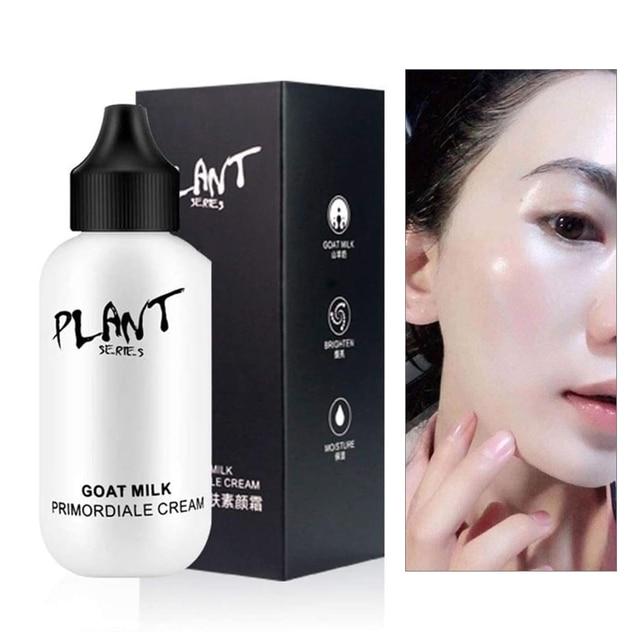 Lazy Face Foundation Cream Full Coverage Waterproof Makeup Base Cream Skin Brighten Cover Dark Circle Face Primer Cream Cosmetic 2