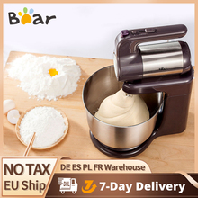 Bear 300W 5 Speeds Electric Food Blender Handheld Dough Cake Mixer Egg Beater Food Processor Mixer Kitchen Tool DDQ-A40A1