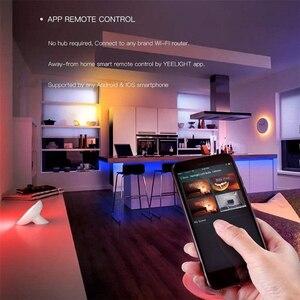Image 4 - Умная Светодиодная лента RGB, DIY домашний декор, приложение Mi Home, Wi Fi, дистанционное управление, 2 м, экологичный продукт Xiaomi Yeelight