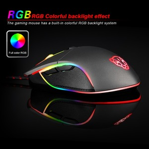 Image 4 - Motospeed V30 Professional Wired Gaming Mouse 3500DPI Optical USB Computer Mouse Gamer Mice X7 Android IOS Silent Mause For PC