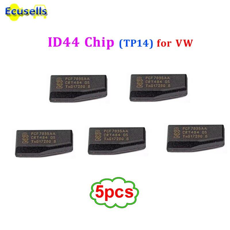 5 шт./лот PCF7935AA PCF7935 ID44 чип транспондера чип immobolizer карбоновый используется для зарубежной версии (TP14) для Volkswagen VW