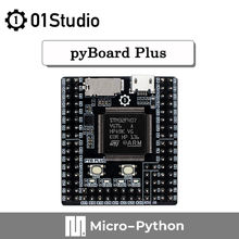 01Studio pyBoard Plus Micropython STM32, carte de démonstration de développement, programmation intégrée